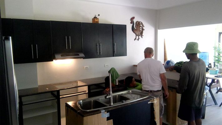 Juergen kitchen cabinet job