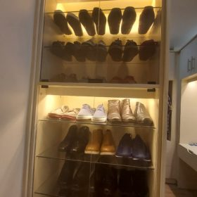 kitchen and closet cabinets